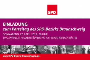 Einladung zum Parteitag des SPD-Bezirks Braunschweig